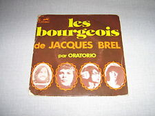 ORATORIO 45 TOURS FRANCE JACQUES BREL