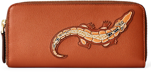 595-Ralph-Lauren-Purple-Label-Collection-Crocodile-Calfskin-Leather-Zip-Wallet