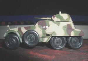 1-72-BA-11-USSR-Panzerwagen-die-cast-model-with-magazine-101-Eaglemoss