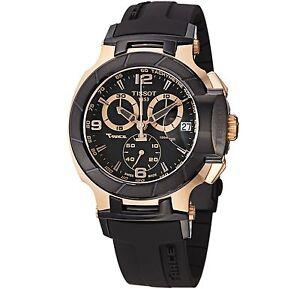3cd3571cc30b Tissot T048.417.27.057.06 T-Race Men Wristwatch - Black for sale ...