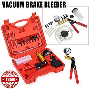 Image Is Loading Hand Held Vacuum Pump Brake Bleeder Tester Set