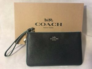 Authentic W Wr Midnight nbsp; Charms Gift Box Wristlet Coach Navy Bnwt Lg gxTqtwddI