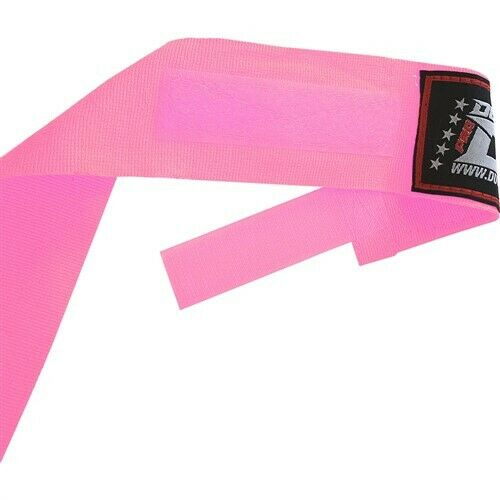 LITE PINK HAND WRAPPING FOR THAIBOXING KICKBOXING 2.5m KIDS /& ADULTS