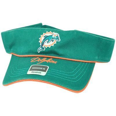Weitere Ballsportarten Fanartikel MüHsam Nfl Miami Dolphins Reebok Damen Einstellbarer Schriftzug Grün Schirmmütze Dv1021