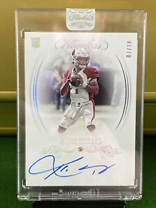 2019 Flawless Kyler Murray Rookie Gems Signatures 7/10 Diamond On Card Auto +box