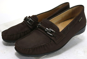 Mephisto-Women-039-s-Cool-Air-120-Loafers-Size-9-Leather-Brown
