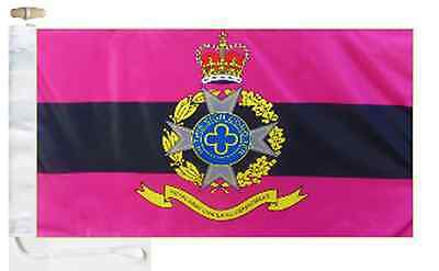 British Boat Toggled Army Flag Roped Royal Department Courtesy Chaplains' amp; Army w7A6wa
