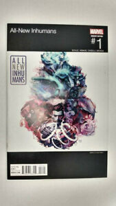 ALL-NEW INHUMANS #1  Hip Hop Variant Cover                  / 2016 Marvel Comics