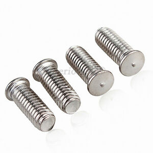 M8 x 12 A2 Welding Studs. Stainless Steel