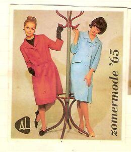 Details about #D241  SET OF TWENTY 1965 DUTCH SUMMER WOMEN'S FASHION  MATCHBOX LABELS