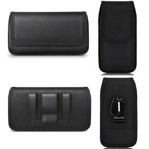 BELT-CLIP-LOOPS-CELL-PHONE-HORIZONTAL-VERTICAL-POUCH-HOLSTER-CASE-COVER-BLACK-US