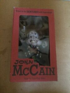 John Mccain Political Art Figure By Strange Company Very Rare