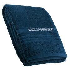 Karl Lagerfeld Badetuch 70x140cm Frottee Handtuch Saunatuch Royal Blau NEU OVP