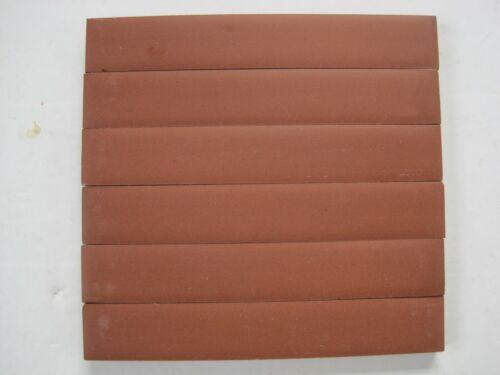 151 X 24 X 9 mm Rojo rectángulos 6-original estilo victoriano de baldosas