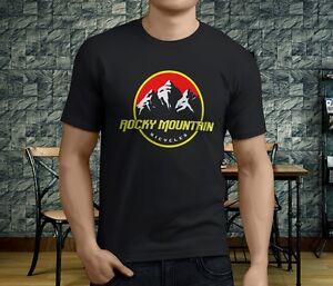 New-Popular-Rocky-Mountain-Bike-Men-039-s-Black-T-Shirt
