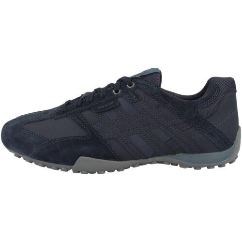 GEOX U SNAKE K Chaussures Hommes Sneaker Men cuir basses lacets u4207k022ekc