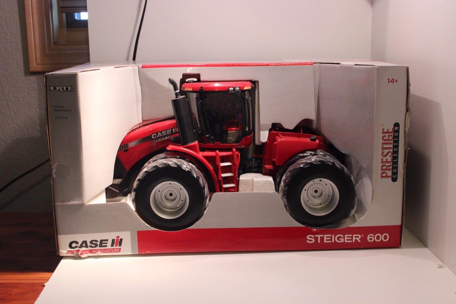 Ertl 1/16 Case IH Steiger 600 Tractor Colector de prestigio internacional 4wd H2F