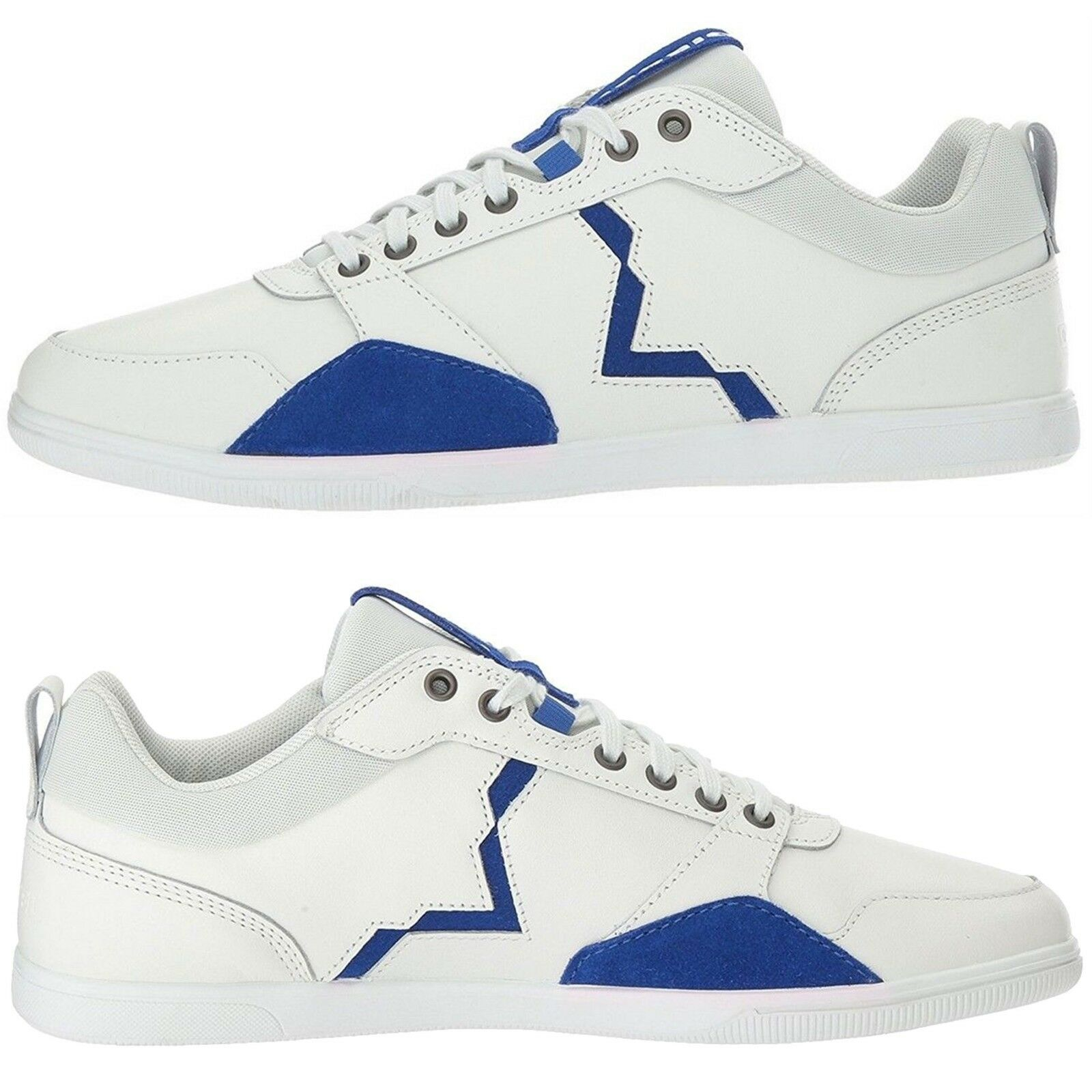 Diesel Uomo Athletic/Casual Shoes Happy Hours Hours Hours S-Tage Lace Up  NEW White 79e8db