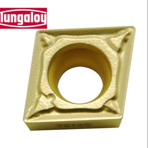 10pcs Tungaloy CCMT09T308-PS T9115 CCMT32.52PS T9115 CNC Carbide Inserts
