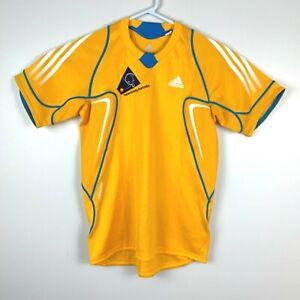 Table-Tennis-Australia-Adidas-Formotion-Genuine-Rare-NFS-Shirt-Size-Men-039-s-Small