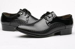 b088ceb6007b New men Lace Up Oxfords Mens Dress Tuxedo Formal Shoes Cap Toe ...