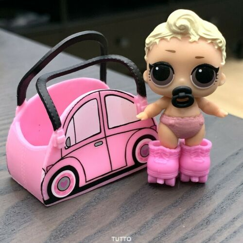 pink baby doll SERIES 2 with shoes /&bag LOL Surprise LiL Sisters L.O.L
