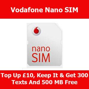 Iphone Se Sim Karte.Details Zu Vodafone Nano Sim Card For Apple Iphone Se 5 5s 5c On Vodafone Pay As You Go