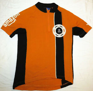 Image is loading Woolistic-AMAZON-ORANGE-WOOL-Cycling-Jersey-MED-Merino- 68dcb66d3