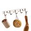Wall-Mounted-Hook-Kitchen-Washroom-Towel-Coat-Clothes-Hanger-Over-the-door-Hooks thumbnail 1