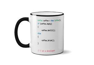 office mug zazzle image is loading developercodecoffeemugfunnyofficegiftbirthday developer code coffee mug funny office gift birthday tea cup