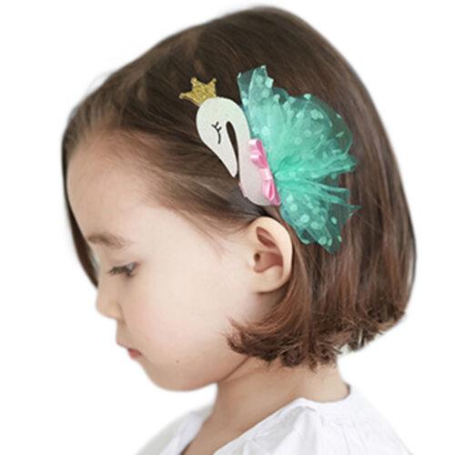 5Pc Kids Girl Toddler Hairpin Baby Girls Cute Cartoon Animal Motifs Hair Clip N