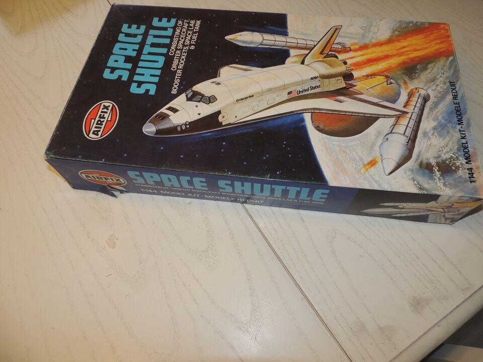 SAMLESÆT : SPACESHUTTLE FRA AIRFIX ( 1978)