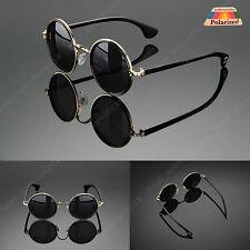 item 2 Round Metal Rim Fashion Vintage Polarized Sunglasses Glasses Retro  50s Women Men -Round Metal Rim Fashion Vintage Polarized Sunglasses Glasses  Retro ... a4c1336487aa
