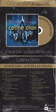 """CD CARDSLEEVE CÉLINE DION D'ELLES A NEW DAY LIVE IN LAS VEGAS """"LES DISQUES D'OR"""