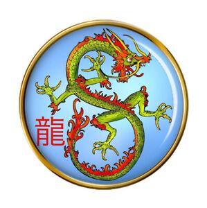 Dragon-Chinois-Revers-Broche-Badge