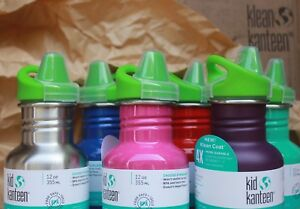 KLEAN-KANTEEN-12oz-SIPPY-Top-Cup-TODDLER-water-bottle-clean-canteen-New-Colors