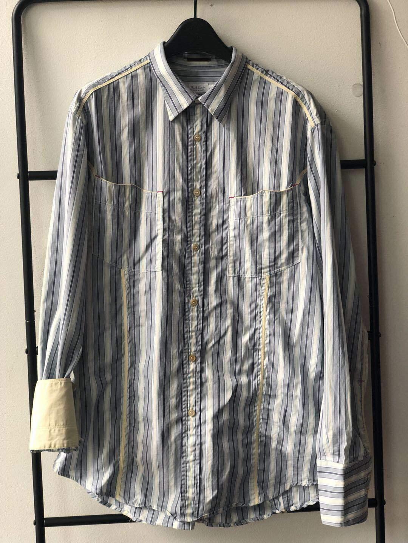 100% Authentic Paul Smith Cotton Men Long Sleeve Shirt - Size L