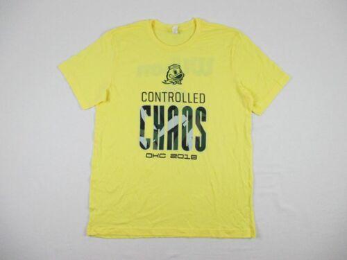 Yellow Short Sleeve Shirt Multiple Sizes NEW Canvas Oregon Ducks