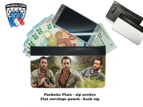 pochette zip - envelope pouch -  alex o'loughlin #103