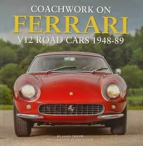 LIVRE-BOOK-FERRARI-V12-ROAD-CARS-1948-1989-zagato-vignale-pinifarina-motto