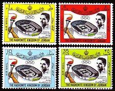 Jordanien Jordan 1964 ** Mi.449/52 Sport Stadion Stadium King Hussein