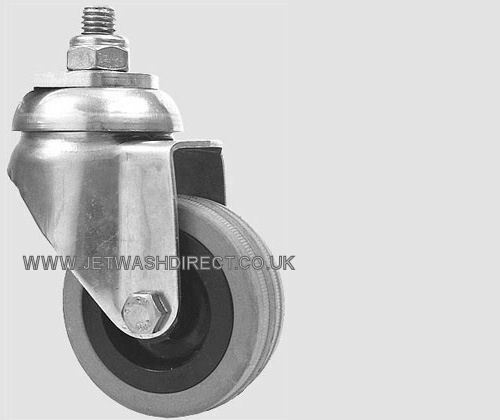 Rubber Wheel /& Caster 80.940 for Mosmatic Rotary Surface Cleaner