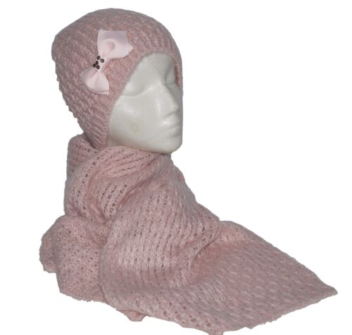 Pretty décortiquer Ladies a and Scarf Set New