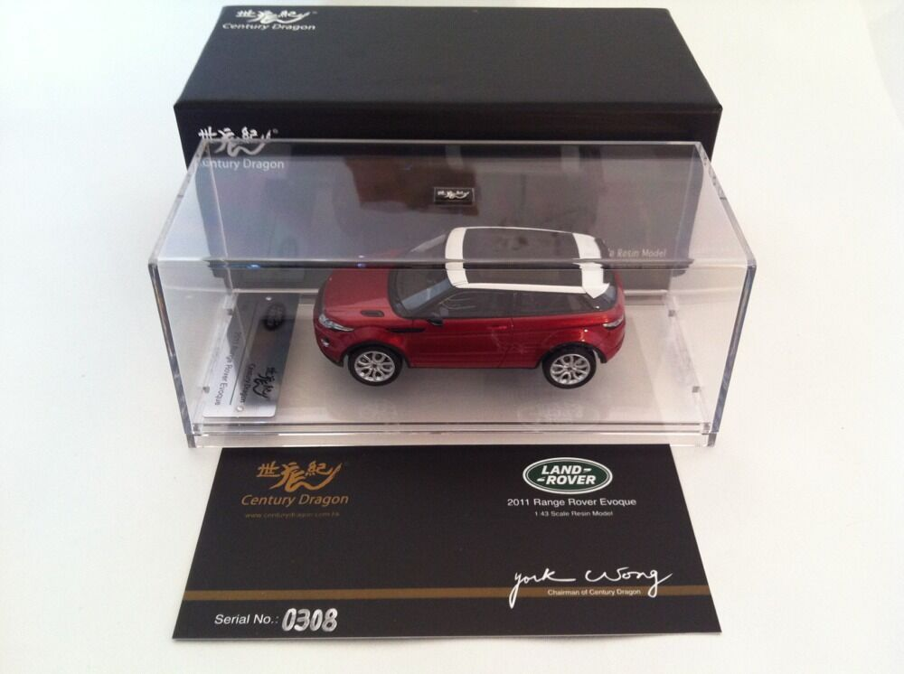 Century Dragon LAND ROVER EVOQUE 2011 Firenze rouge CDLR 1001 nouvelle gamme