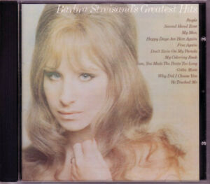 BARBRA-STREISAND-039-S-GREATEST-HITS-CD-PEOPLE-DON-039-T-RAIN-ON-MY-PARADE-HAPPY-DAYS