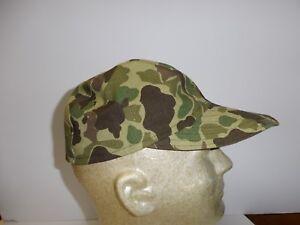 e1952XL Vietnam French Indochina Duck Hunter Camouflage Baseball Cap X-Large W8B