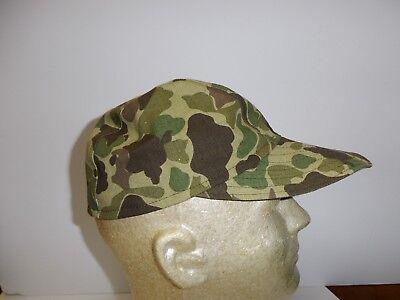 e1952L Vietnam French Indochina Duck Hunter Camouflage Baseball Cap Large W8B