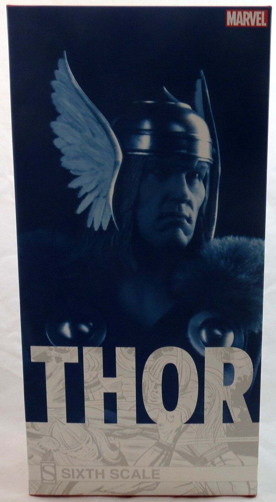 Sideshow Marvel 12  1 6 Classic Thor Figure New