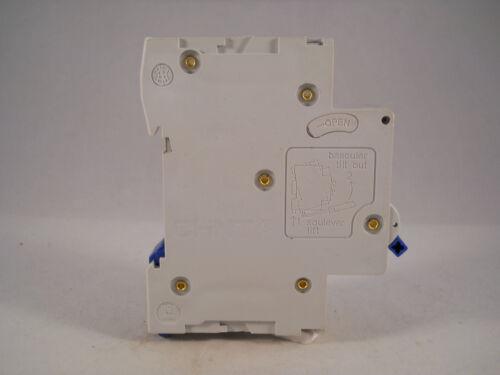 Chint Reja de desminado 6 Amp Tipo B 6A interruptor de circuito bipolar de solo B6 NB1-63 NB1-63B6
