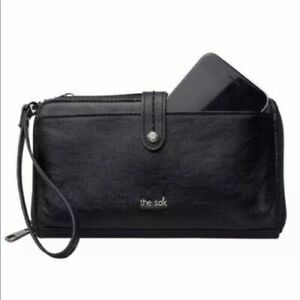 The-Sak-3-In-1-Leather-Phone-Wallet-Black